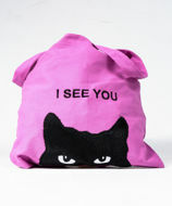 Picture of Pink Twill Branded Bag