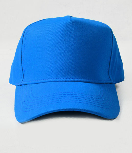 Picture of 100% Cotton Blue Baseball Cap
