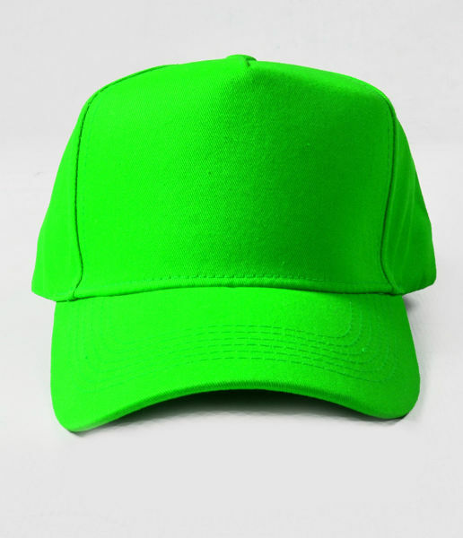 Picture of 100% Cotton Green Baseball Cap
