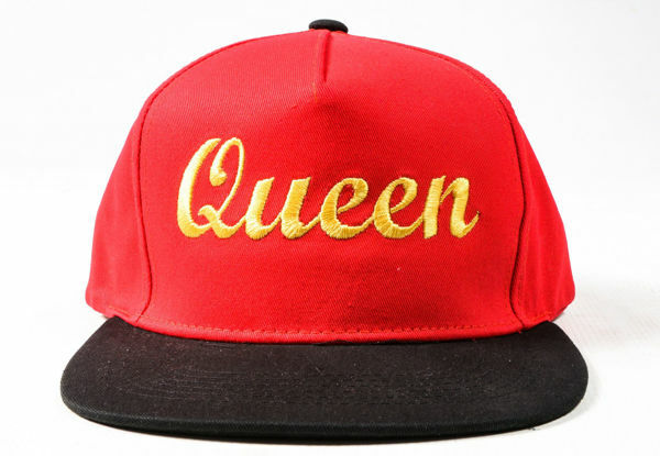 Picture of 100% Cotton Queen Snapback in Red