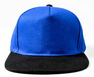 Picture of 100% COTTON SNAPBACKS WITH RED, BLUE OR WHITE PANELS.