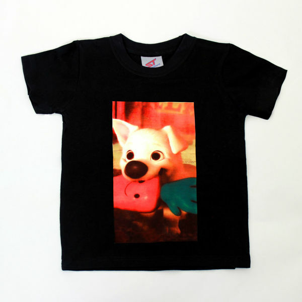Picture of Woof T-Shirt in Black
