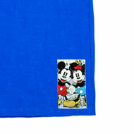 Picture of Cute T-Shirt with Mickey & Minnie Mouse in Blue