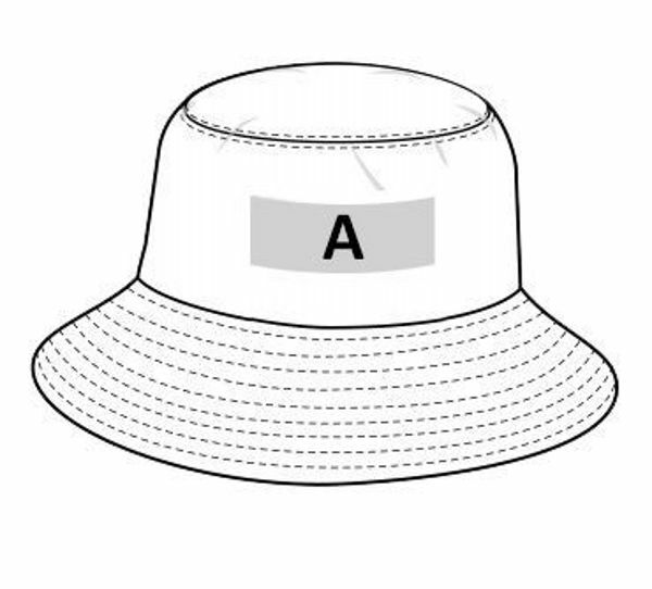 Picture of CUSTOM BUCKET HAT READY FOR PRINTING