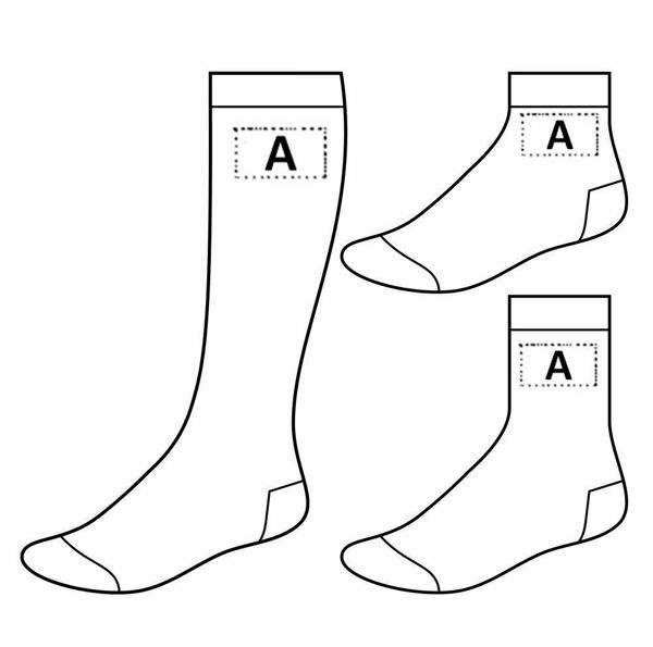 Picture of CUSTOM SOCKS READY FOR PRINTING