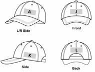 Picture of 100% COTTON BASEBALL CAP IN DIFFERENT COLOURS