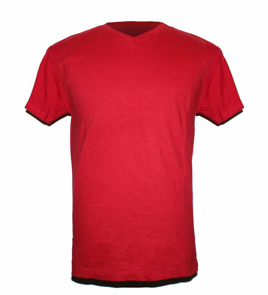 Picture of Casual V-Neck T-Shirst available in different colours